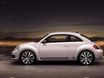 Bán ô tô Volkswagen Beetle E 2016, màu kem (be), nhập khẩu nguyên chiếc