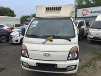 Cần bán xe Hyundai Poter ca bin đơn đông lạnh 2015, màu trắng