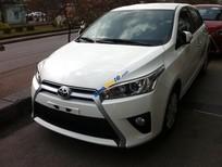 Cần bán xe Toyota Yaris E CVT 2017 màu trắng, giá cực hấp dẫn