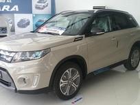 Cần bán xe Suzuki Vitara 2017, xe nhập, màu trắng ngà nóc đen, hỗ trợ trả góp