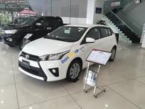 Toyota Long Biên: Bán Yaris 1.5E 2017, giá tốt nhất, giao xe ngay, hỗ trợ trả góp, hotline: 0941.00.4444