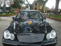 Bán Mercedes C200 đời 2003, màu đen