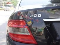 Cần bán Mercedes C200 đời 2008, màu đen chính chủ