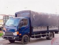 Xe tải hyundai HD72 thùng mui bạt, tổng tải trọng 4.900 kg