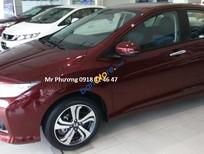 Bán Honda City năm sản xuất 2016, màu đỏ giá cạnh tranh