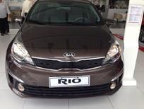 Cần bán xe Kia Rio 1.4 MT 2016, màu nâu giá giảm cực sốc kèm quà tặng, khuyến mãi hấp dẫn