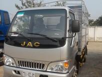 Xe tải mới JAC 1.25 tấn, máy ISUZU, bh 3 năm, nhận xe ngay