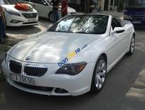 Cần bán lại xe BMW 6 Series 650i đời 2008, màu trắng, nhập khẩu nguyên chiếc