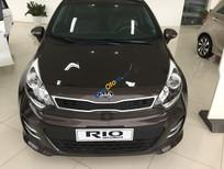 Bán Kia Rio sản xuất 2016, màu nâu, nhập khẩu