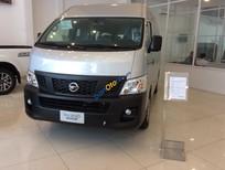 Bán Nissan Urvan NV350 16 chỗ mới 100%, màu bạc, nhập khẩu nguyên chiếc từ Nhật bản