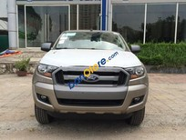 Bán xe Ford Ranger XLS 4x2 AT màu ghi vàng, mới 100%, bảo hành 3 năm, hỗ trợ trả góp