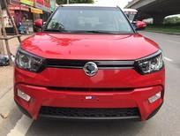 Cần bán Ssangyong  tivoli 1.6 2016, màu đỏ, xe nhập
