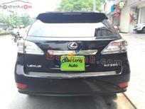 Cần bán lại xe Lexus RX 350 sản xuất 2010, màu đen, xe nhập