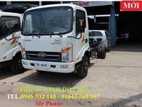 xe tải VEAM VT350 3.5 tấn thùng mui bạt, xe VEAMV T350 3T5 động cơ HYUNDAI