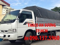 TP.HCM: Kia Frontier K250, tải trọng 2.49 tấn, động cơ Hyundai, thùng kín inox430