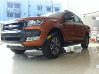 An Đô Ford: Bán xe Ford Ranger Wildtrak 3.2 AT 4x4 màu cam, xe chính hãng, bảo hành 3 năm, hỗ trợ trả góp