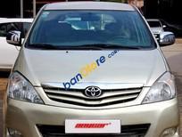 Bán Toyota Innova G 2.0MT đời 2009, màu vàng số sàn, giá 575tr