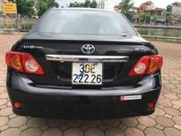 Bán Toyota Corolla Altis AT đời 2009, màu đen chính chủ