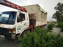 Bán xe tải cẩu Misu 4t5 cẩu Unic 5 tấn thùng 6m7 đời 1997