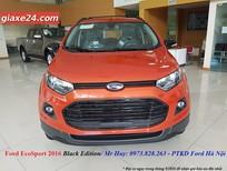 Bán ô tô Ford EscoSport Balck Edition 2016, màu đỏ cam, hồ sơ trao tay hỗ trợ trả góp