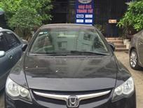 Bán xe Honda Civic 2008MT, màu đen, giá tốt liên hệ 0906112668