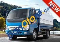 Khuyến mãi 100% phí trước bạ khi mua xe tải Thaco 2 tấn 4, động cơ CN Isuzu, máy lạnh Cabin