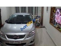 Cần bán lại xe Toyota Corolla altis AT đời 2009, màu bạc đã đi 60000 km