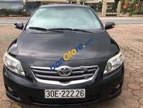 Cần bán xe Toyota Corolla altis AT đời 2009, màu đen