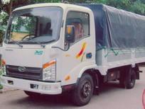 Xe tải Veam VT150 Veam 1t5 thùng bạt vào thành phố