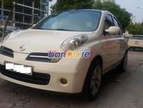 Cần bán Nissan Micra 1.2at 2007, màu trắng, nhập khẩu, số tự động, 385 triệu