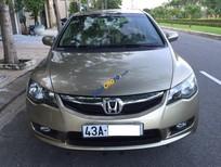 Cần bán Honda Civic 1.8 đời 2010, màu vàng số tự động