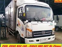 xe tải VEAM 1.99 tấn thùng kín động cơ HYUNDAI, xe tải VEAM VT200 1t99 có máy lạnh