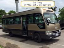 Chuyên bán xe khách County hyundai 29 ghế thân dài Model 2017