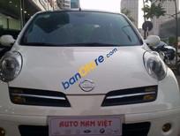 Cần bán xe Nissan Micra sản xuất 2007, màu trắng