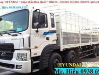 Giá xe tải Hyundai HD360 nhập khẩu-bán xe tải Hyundai 5 chân rẻ nhất Bà Rịa Vũng Tàu