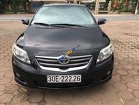 Bán xe Toyota Corolla altis AT đời 2009, màu đen chính chủ, giá chỉ 580 triệu