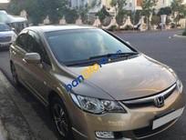 Bán Honda Civic MT đời 2009, màu vàng đã đi 55000 km, 445 triệu