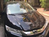 Cần bán lại xe Honda City 1.5CVT sản xuất 2015, màu đen