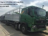 Xe tải thùng 4 chân Howo 2019