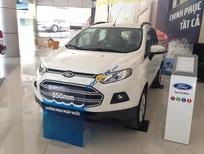 Bán ô tô Ford EcoSport Trend MT đời 2018, màu trắng, giá tốt