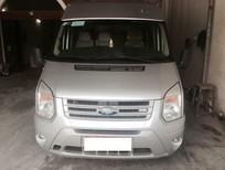 Cần bán lại xe Ford Transit 2013, màu bạc