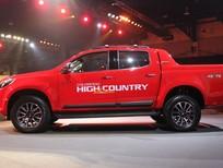 Bán xe Chevrolet Colorado Bán Tải Hight Coutry phiên bản 2017 mới nhất vừa ra mắt, màu đỏ, xe nhập