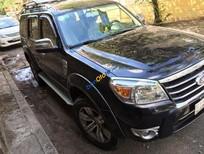 Cần bán Ford Everest MT đời 2011, màu đen số sàn, 650tr