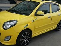 Bán Kia Morning SX sản xuất 2012, màu vàng số tự động