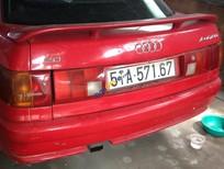 Cần bán lại xe Audi 80 1992, màu đỏ, nhập khẩu chính hãng, 193tr