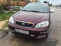 Bán xe cũ Toyota Corolla Altis 1.8G đời 2002, màu đỏ