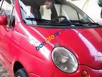 Cần bán Daewoo Matiz MT đời 2007, màu đỏ