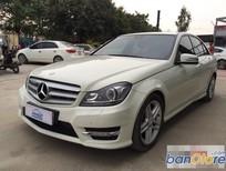 Cần bán xe Mercedes C300 Trắng 3.0AT năm 2012
