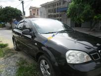 Bán Daewoo Lacetti EX 2004, màu đen, giá 190tr