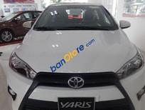 Bán Toyota Yaris 1.3 E nhập Khẩu sản xuất 2016, màu trắng, giá 617tr